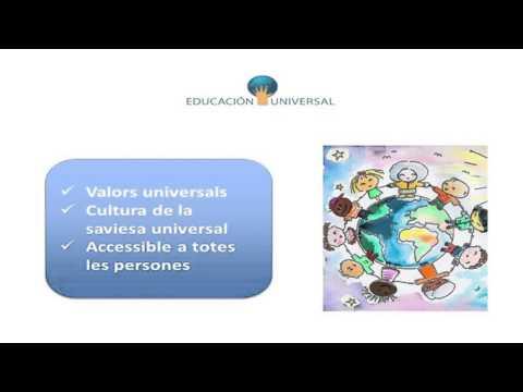 La necessitat d'una educació integral i universal, Esther Asensi