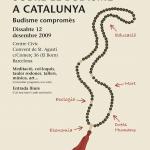 Poster I Jornada de Budisme a Catalunya