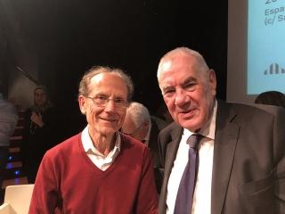 Pepe Aponte y Ernest Maragall
