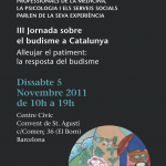 III Jornada sobre Budismo en Cataluña