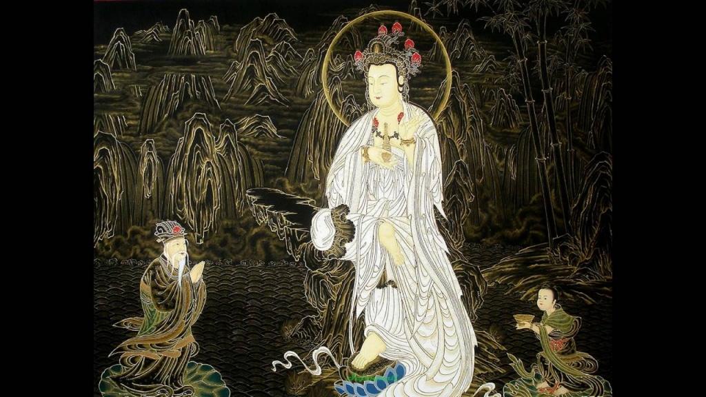 Mantra de luz. Canto budista coreano