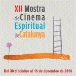 Banner XII mostra de cinema espiritual de Catalunya