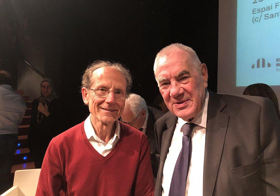 Pepe Aponte i Ernest Maragall
