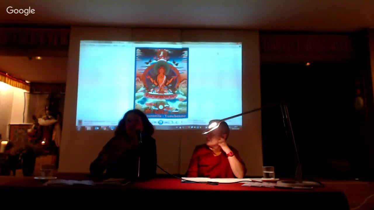 El simbolisme de les deïtats femenines en el budisme tàntric